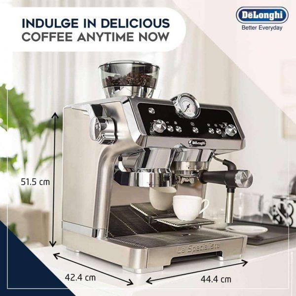 DeLonghi La Specialista Coffee Machine 7
