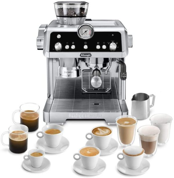 DeLonghi La Specialista Coffee Machine 8