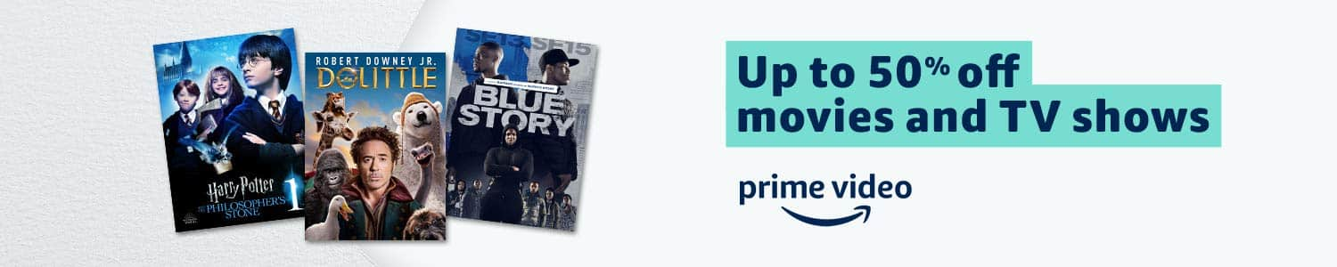 Up to 50% Off Movies & TV Shows
