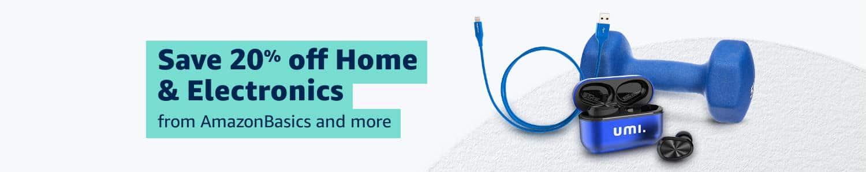 20% Off Home & Electronics