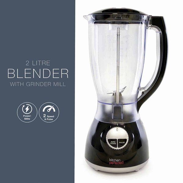 Kitchen Perfected Blender with Grinder