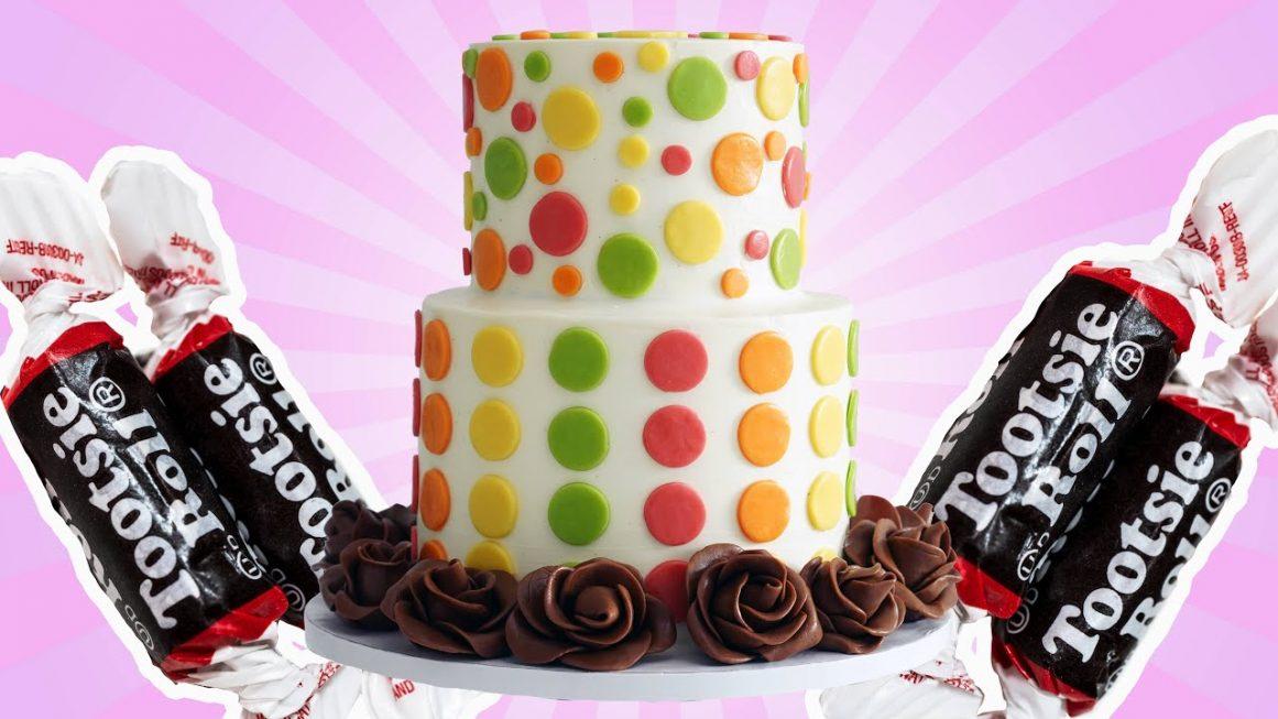 Tootsie Roll Cake