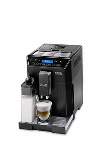 DeLonghi Eletta Fully Automatic Bean to Cup Coffee Machine Cappuccino and Espresso Maker ECAM 44660B Black 0 1