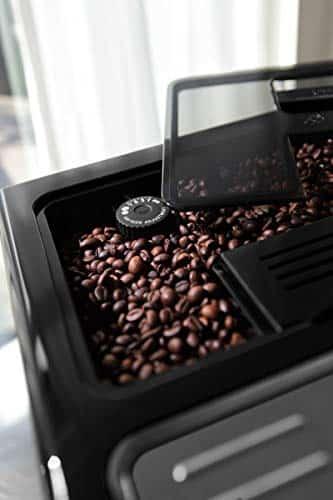 DeLonghi Eletta Fully Automatic Bean to Cup Coffee Machine Cappuccino and Espresso Maker ECAM 44660B Black 0 3