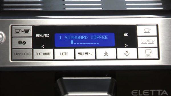 DeLonghi Eletta Fully Automatic Bean to Cup Coffee Machine Cappuccino and Espresso Maker ECAM 44660B Black 0 5
