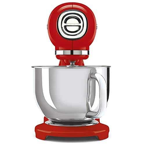 Smeg SMF03RDUK 50s Retro Style Stand Mixer Red 0 0