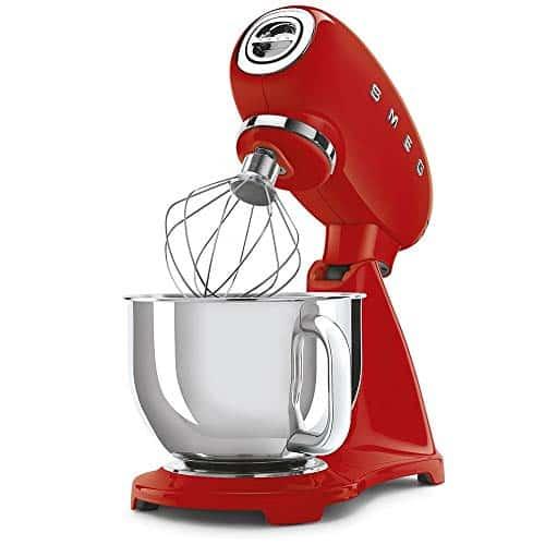 Smeg SMF03RDUK 50s Retro Style Stand Mixer Red 0 1