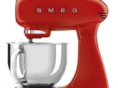 Smeg SMF03RDUK 50's Retro Style Stand Mixer Red