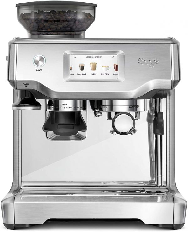 Sage SES880BSS the Barista Touch Espresso Machine