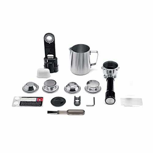 Sage SES980BTR Automatic Espresso Machine Stainless Steel 0 1