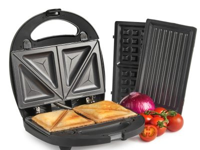 MisterChef® 3in1 Sandwich Maker