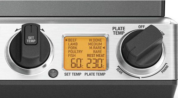 Sage BGR840BSS Smart Grill Pro