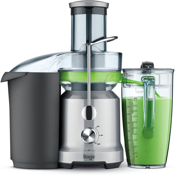 Sage BJE430SIL Nutri Juicer Cold Fountain Centrifugal Juicer