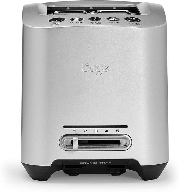 Sage BTA825UK Smart 2 Slice Motorised Toaster