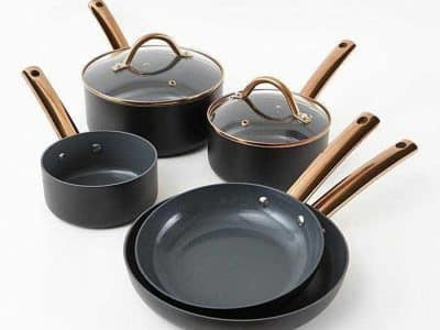 Cermalon 5-Piece Heritage Non-Stick Pan Set