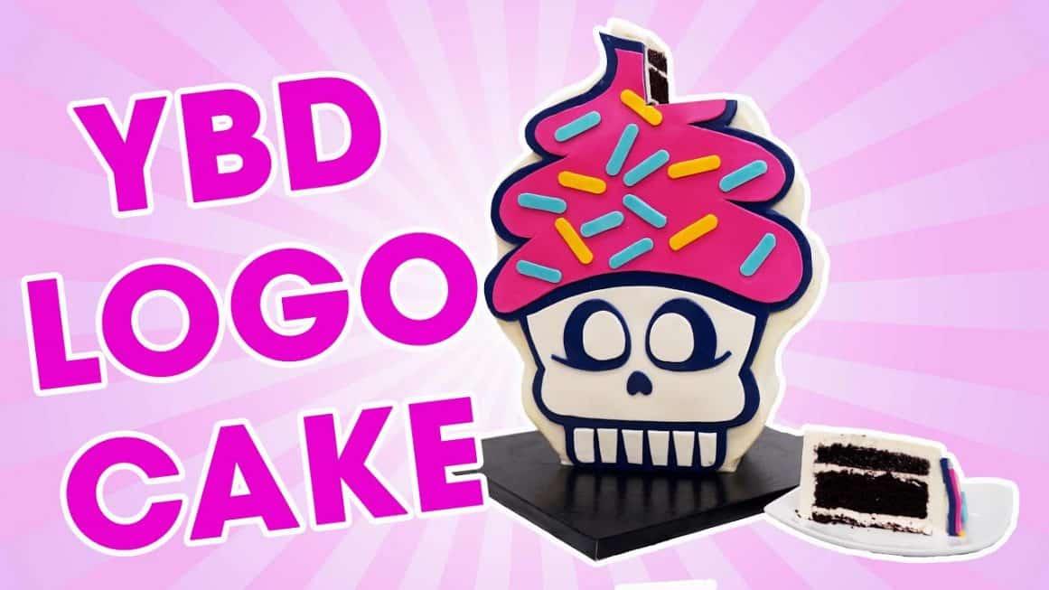 YBD Logo Cake