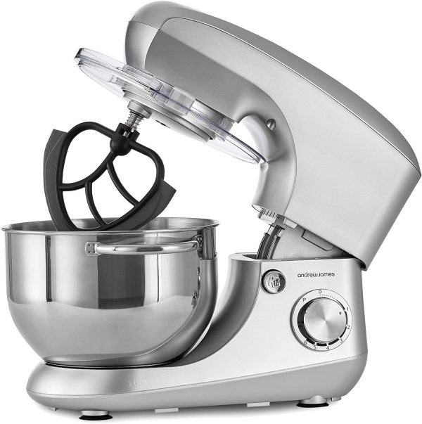 Andrew James Silver Stand Mixer