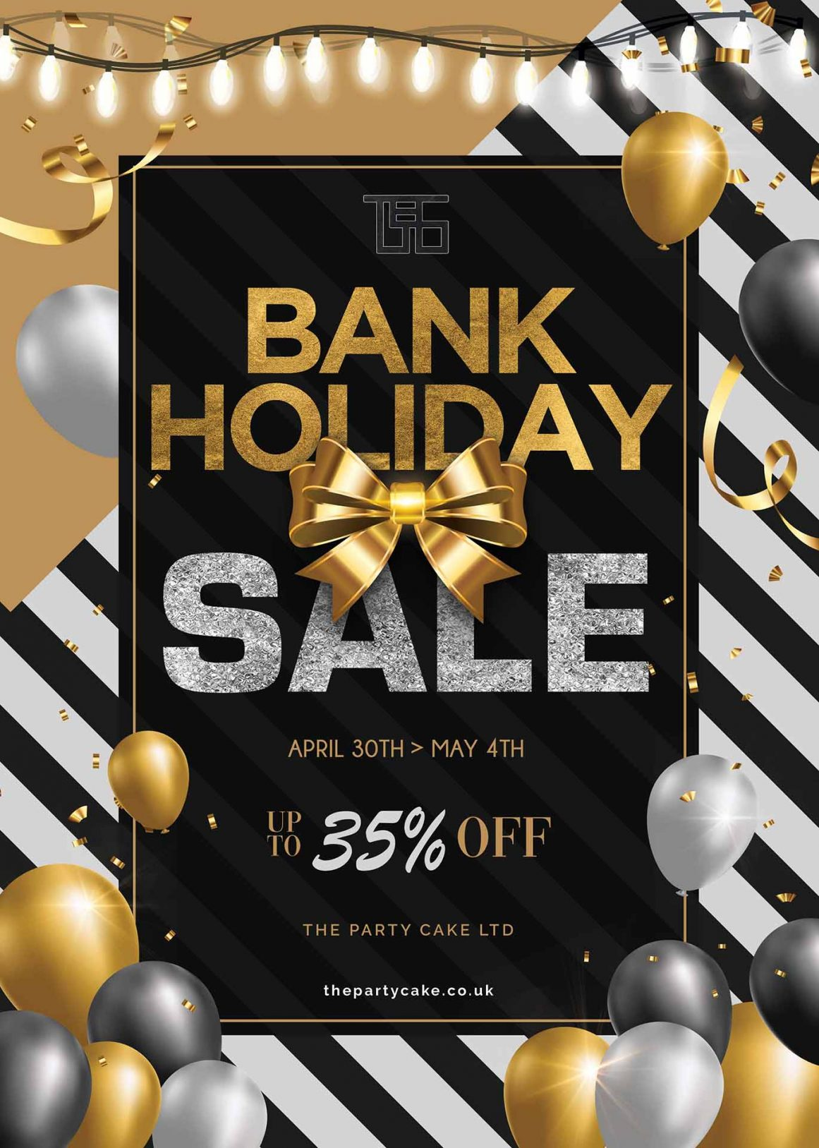 Early May Bank Holiday Weekend Sale