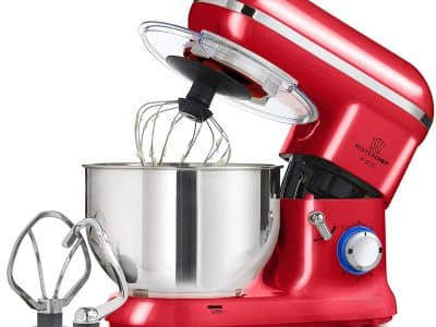 MisterChef® Pro Stand Mixer Red