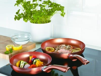 Cermalon Ceramic Coating Frying Pan Set
