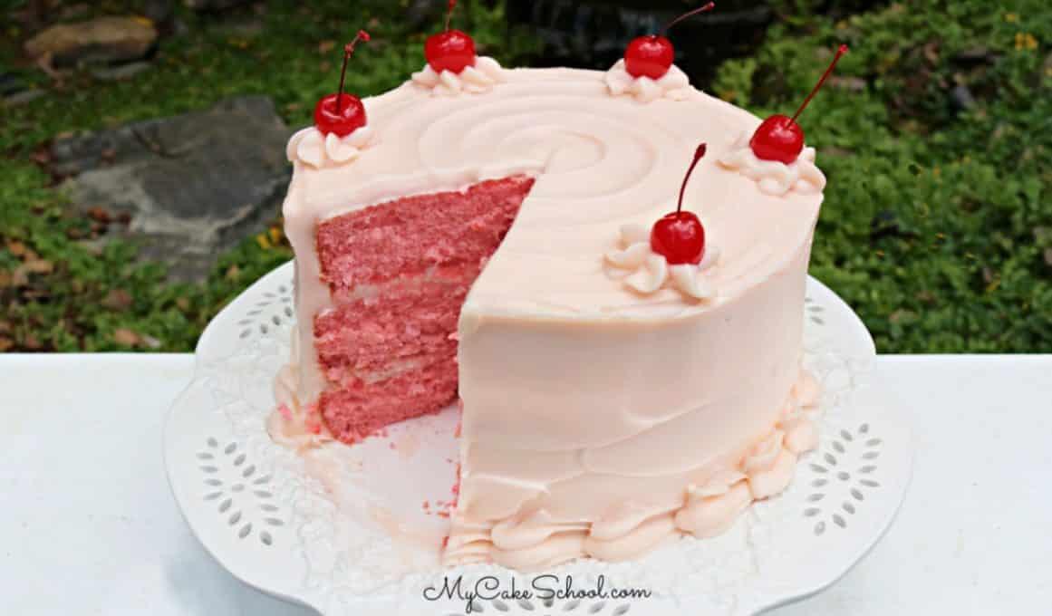 Cherry Layer Cake