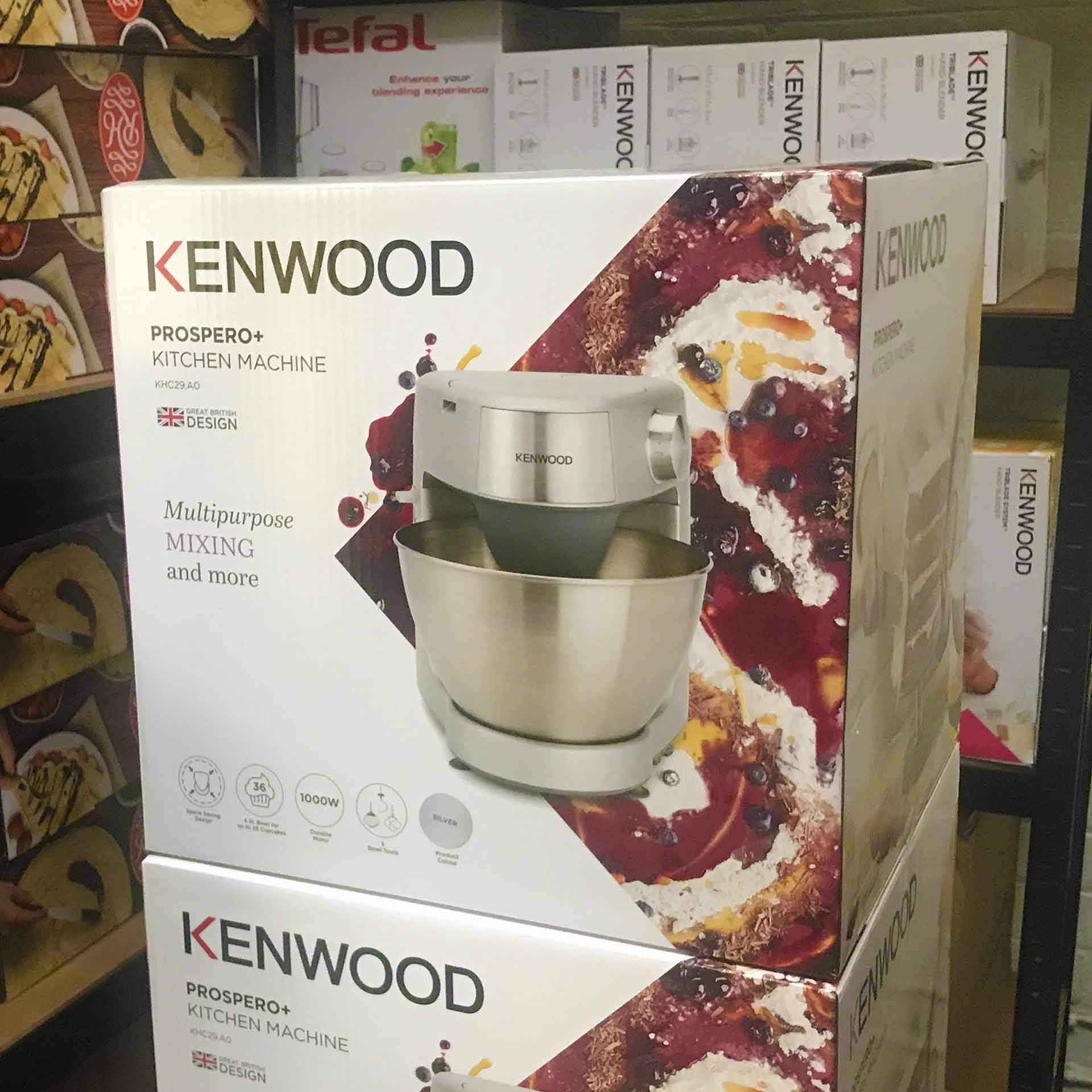 Kenwood Prospero Plus Stand Mixer Delivery