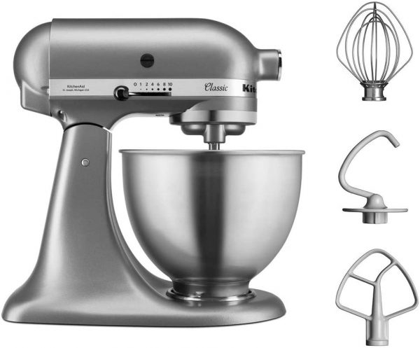 KitchenAid Classic Stand Mixer Silver
