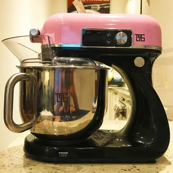 TPCLtd Stand Mixer Prototype 2 - Pearl Pink