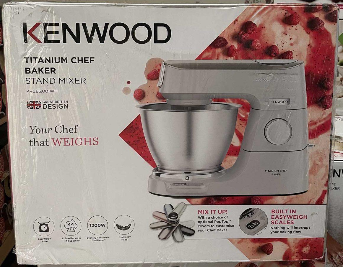 Kenwood Titanium Chef Baker Delivery