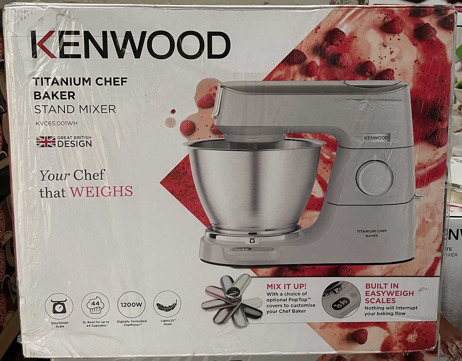 """Featured image for """"Kenwood Titanium Chef Baker Delivery"""""""