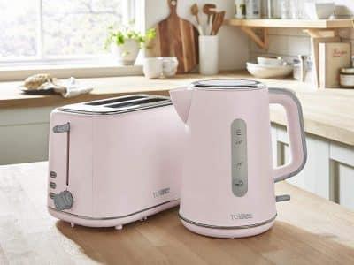 Tower Scandi Marshmallow Pink Breakfast Set
