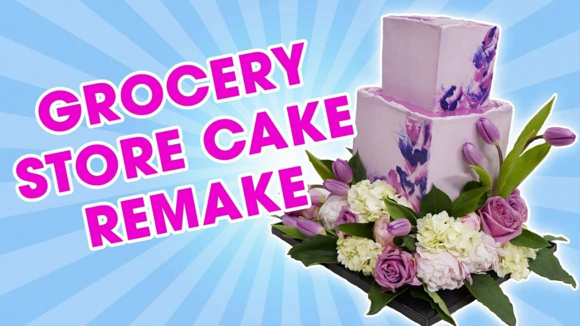 Grocery Store Cake Remake
